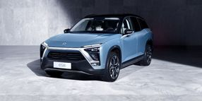 China Startup Launches EV SUV to Rival Tesla Model X