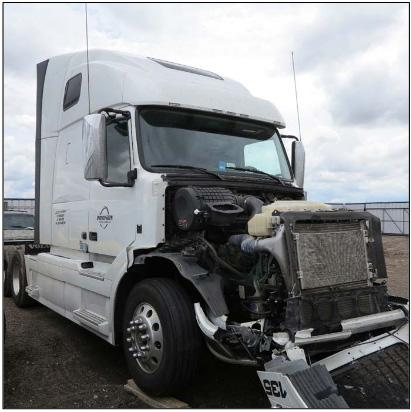 Collision Avoidance May Have Lessened Truck Crash Damage