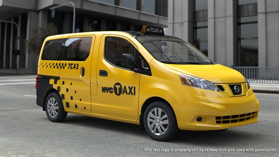 The Nissan NV200 will be the exclusive taxicab for New York City from 2013 to 2023.