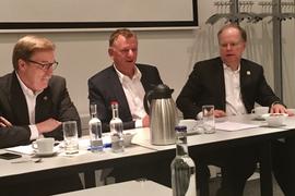 Navistar and VW Chiefs Talk Up Their Alliance Deal