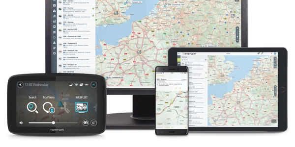 New WEBFLEET is available to all TomTom Telematics customers across 60 countries, in 13...