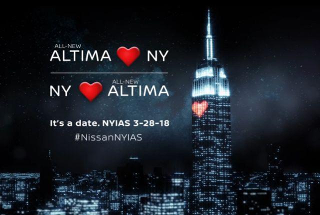 Next-Gen 2019 Nissan Altima to Debut in New York