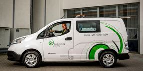 Commercial Vehicle-to-Grid Hub Installed in Denmark