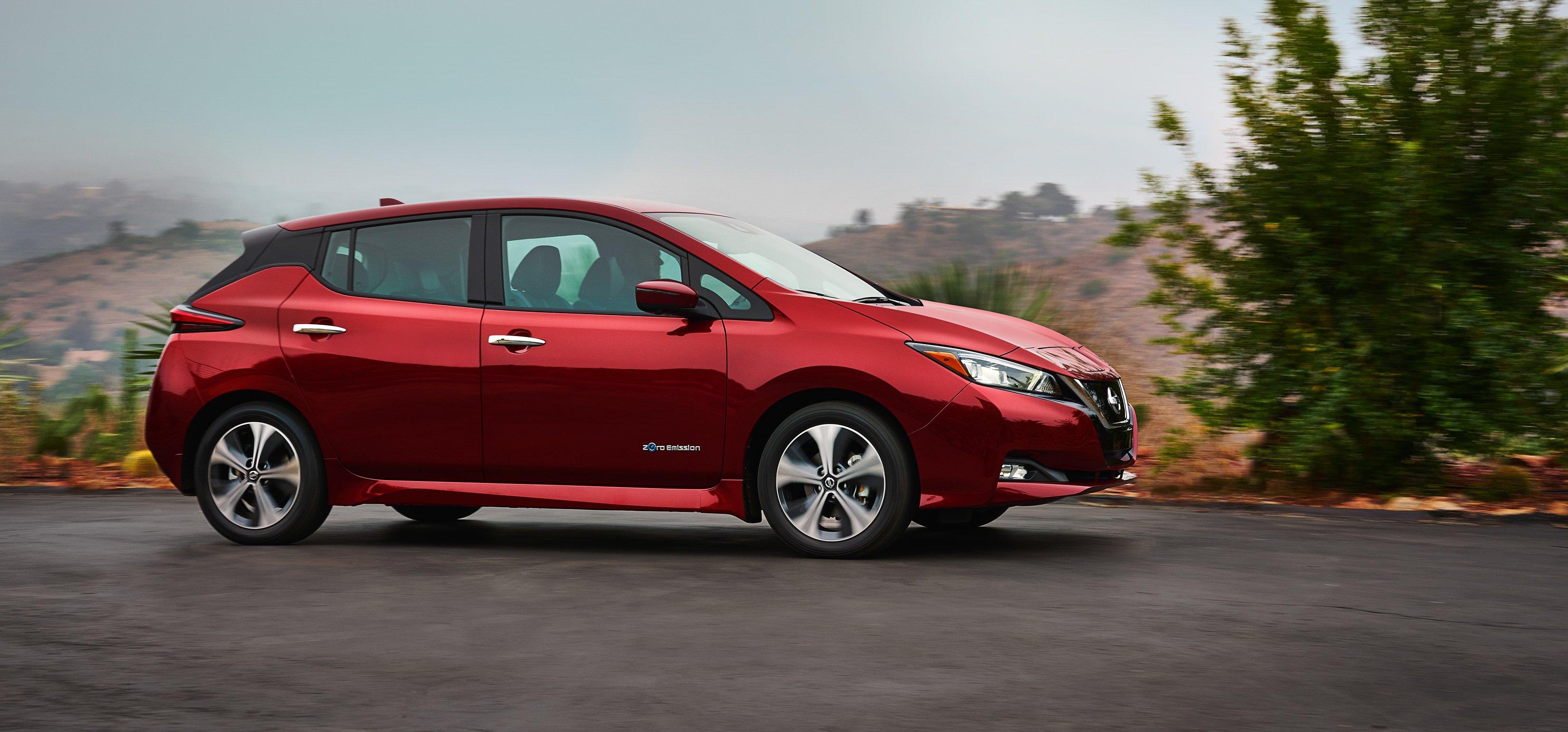 2018 Nissan Leaf Adds Range, Cuts Price