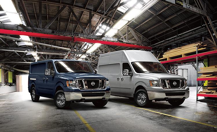 Nissan Prices 2018 NV Vans