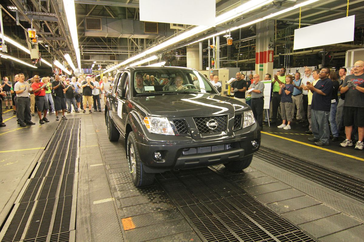 Nissan Shifts Frontier and Xterra Production to Canton Mississippi Plant
