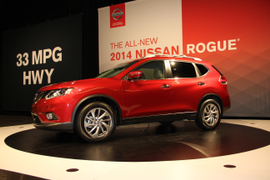 Nissan Provides Full 2014 Rogue Details