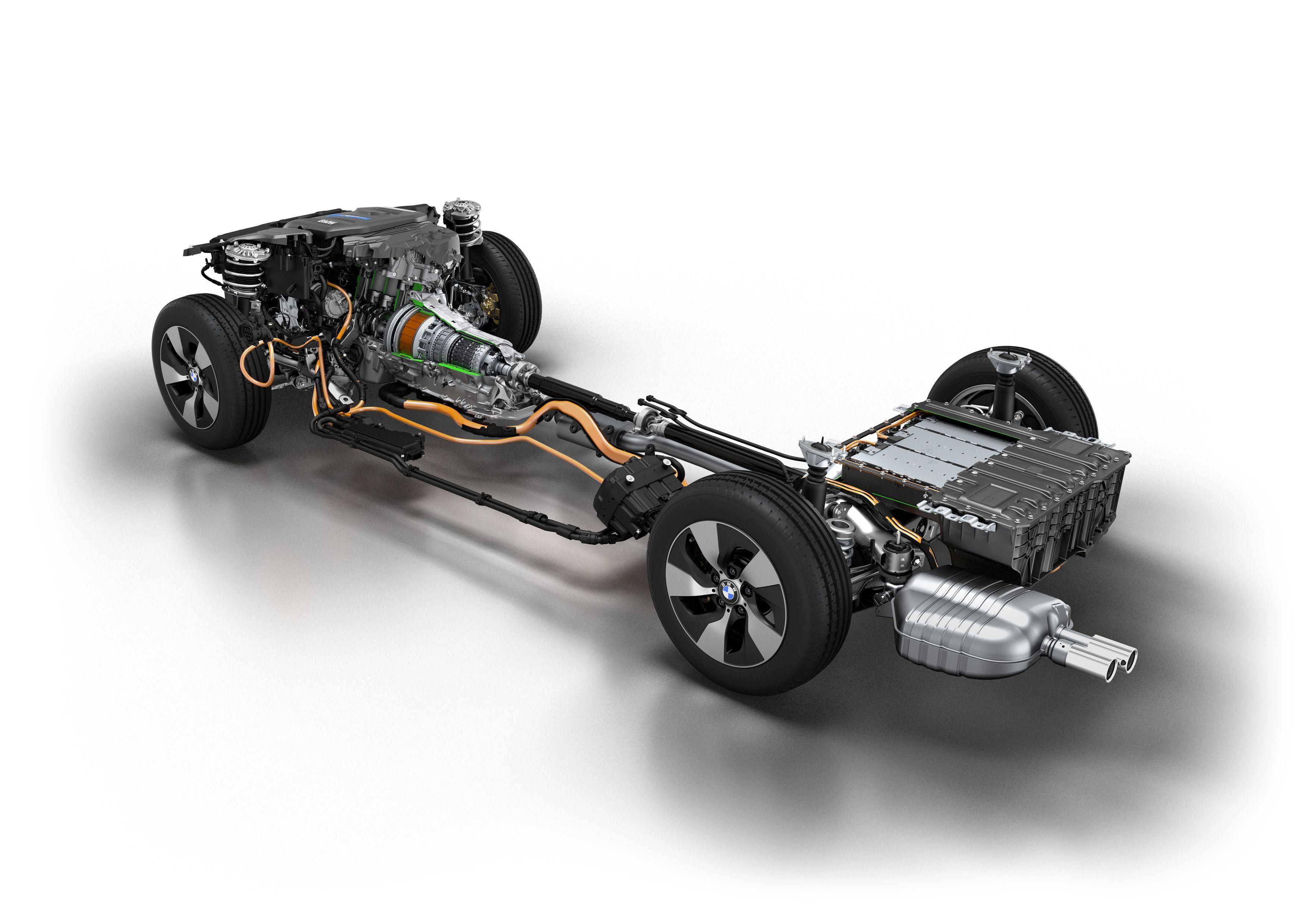 BMW Introduces Plug-in Hybrid Prototype