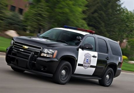 Gm Offers Two Versions Of 2010 Tahoe For Law Enforcement Safety Accident Automotive Fleet