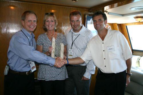 Smooth Sailing for GE Remarketing Awards