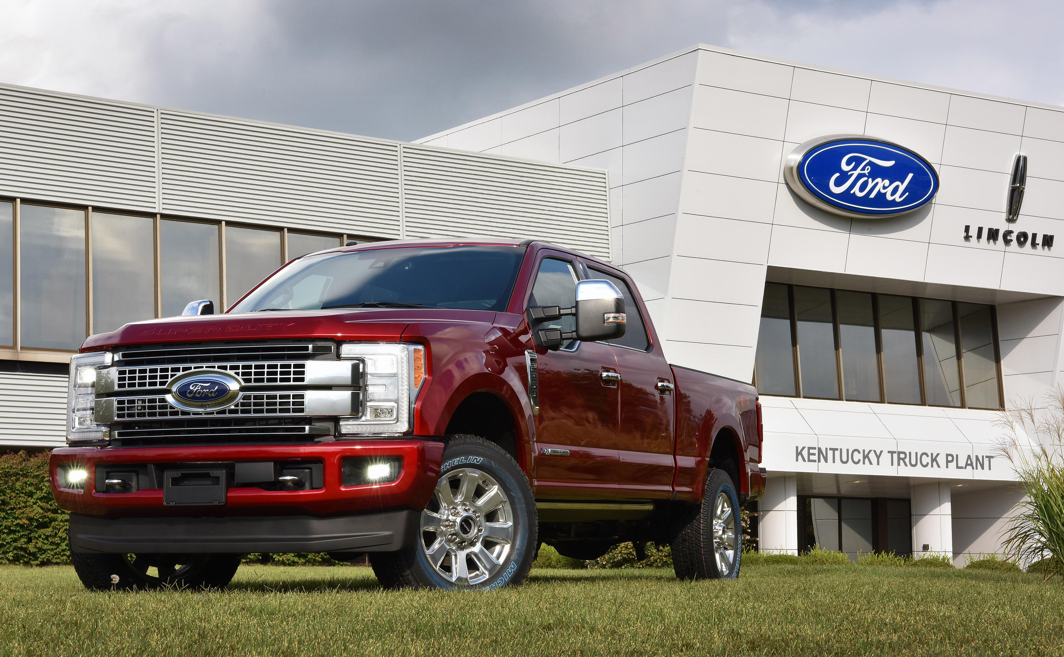 Ford Recalls Super Duty Trucks for Fire Risk