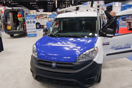 Van Upfitters Roll Out ProMaster City Racks, Bins