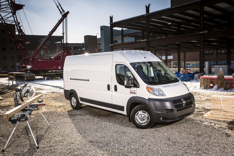 FCA Updates Ram Vans for 2018