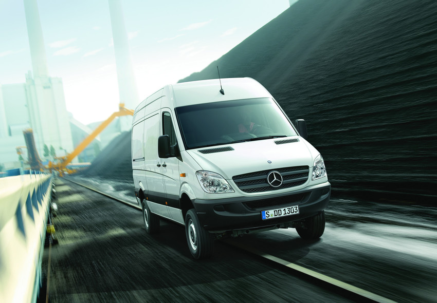 UK Delivery Fleet Adds Sprinter Vans