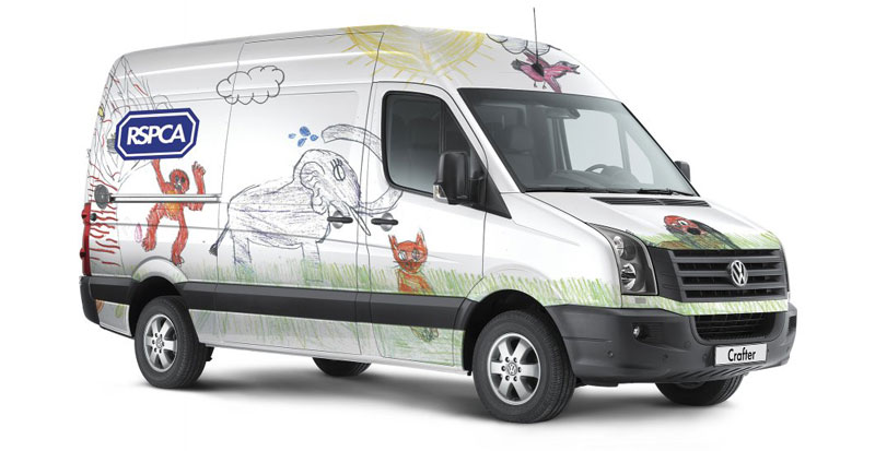 Volkswagen Provides Vans to UK Animal Welfare Agency