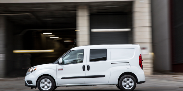 Photo of 2018 Ram ProMaster City courtesy of FCA.
