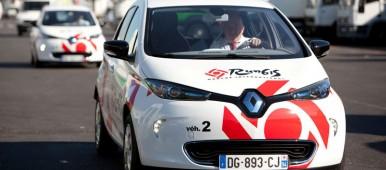 Paris Wholesale Market Receives Fleet of Renault Electric Vehicles