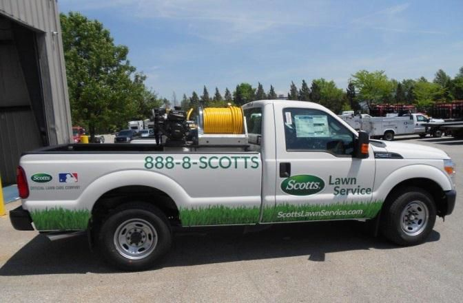 Reading Sets Up Lawn Care Truck Fleet