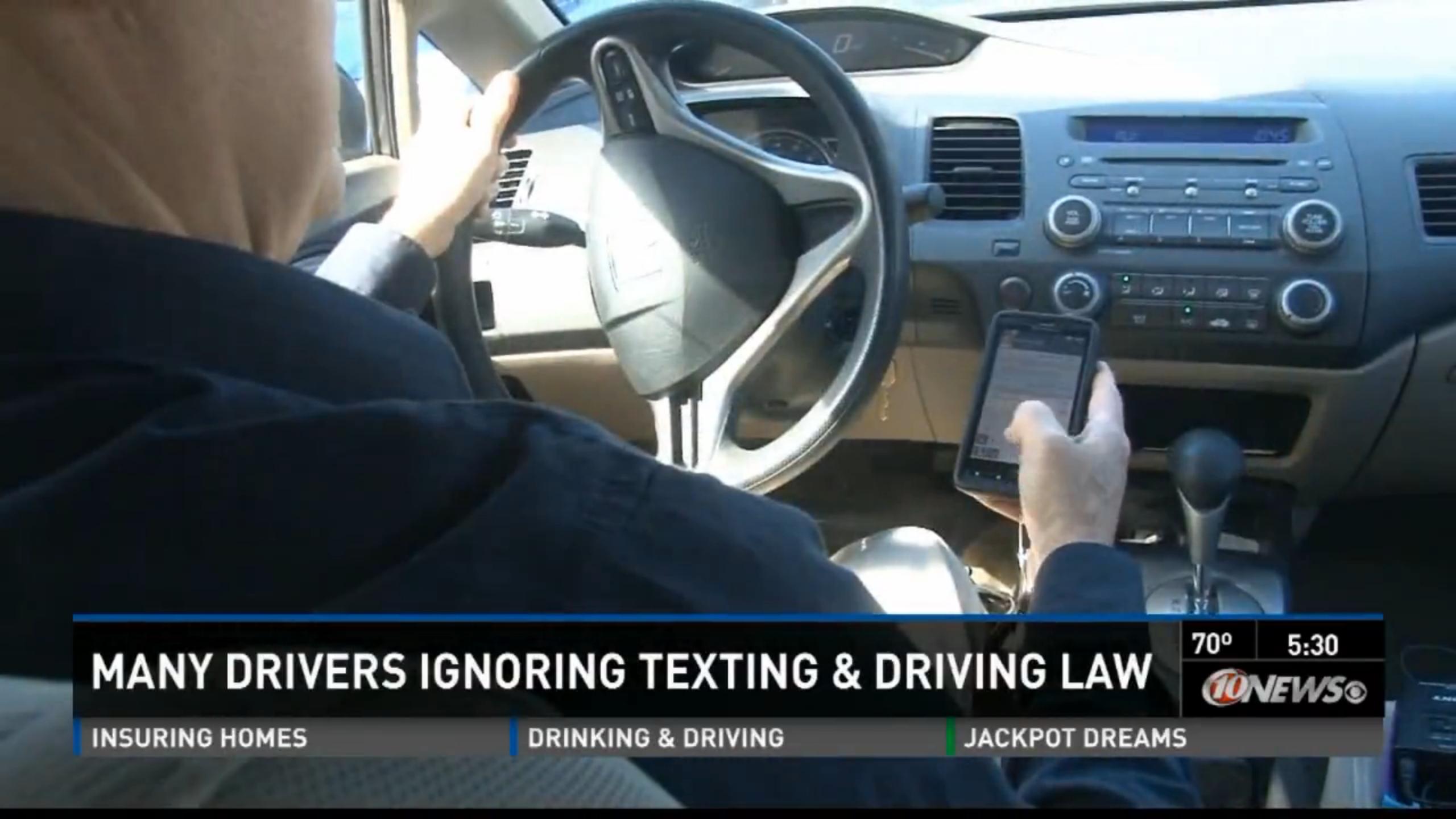 Video: Safety Advocates Seek to Toughen Florida Texting Ban