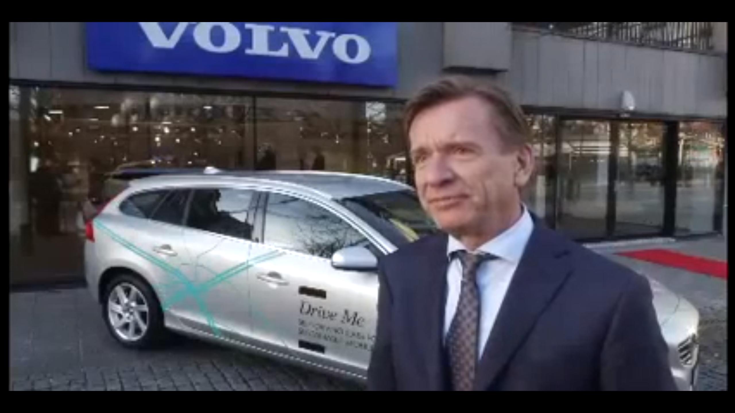 Video: Volvo Testing Self-Driving Cars On Swedish Streets
