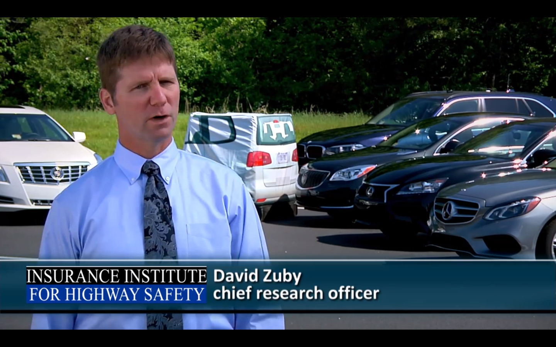 Video: Four Vehicles Ace Front Crash Prevention Tests