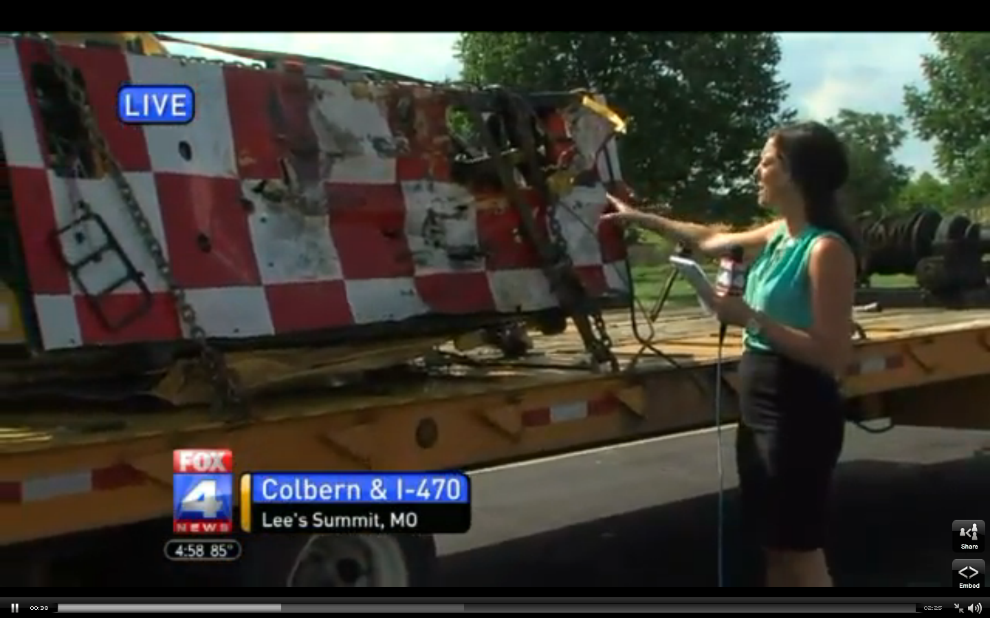 Video: MoDOT Fleet Safety Feature Might Have Saved Lives