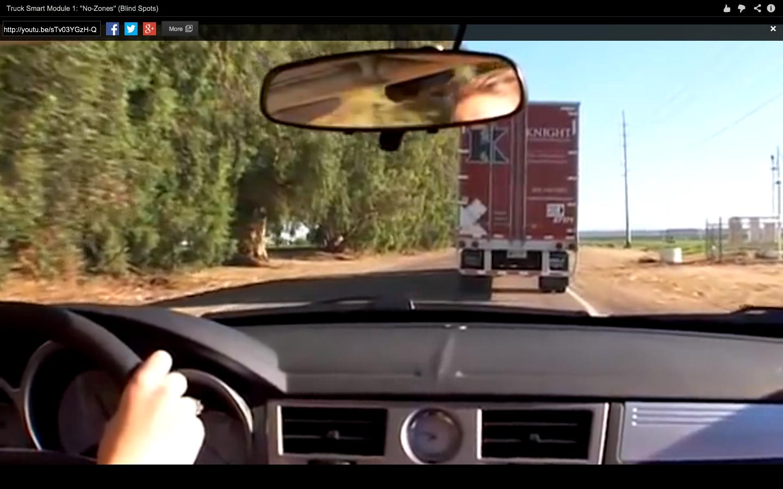 Fleet Safety Video Tip: Understanding Big-Rig Blind Spots
