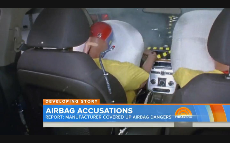 Video: Air Bag Supplier Facing Criminal Probe