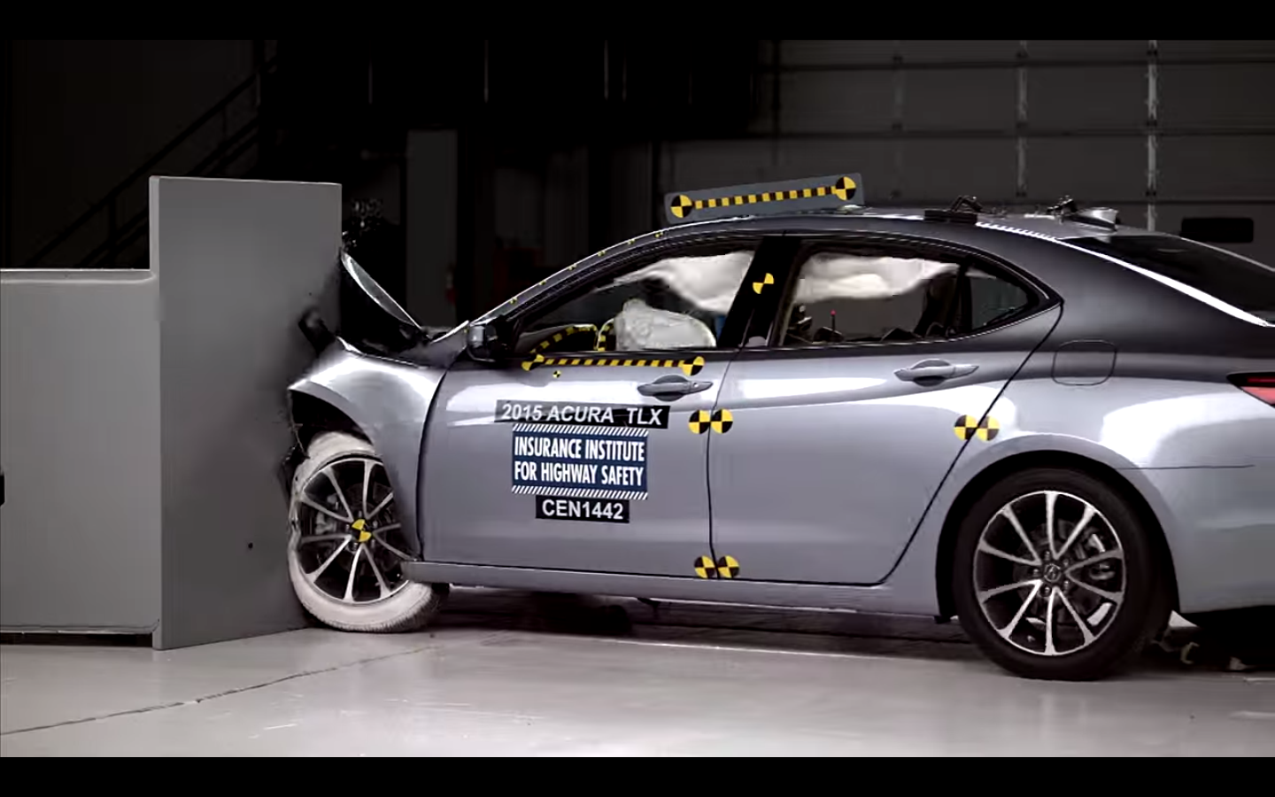Video: Acura TLX Attracts Top IIHS Safety Rating