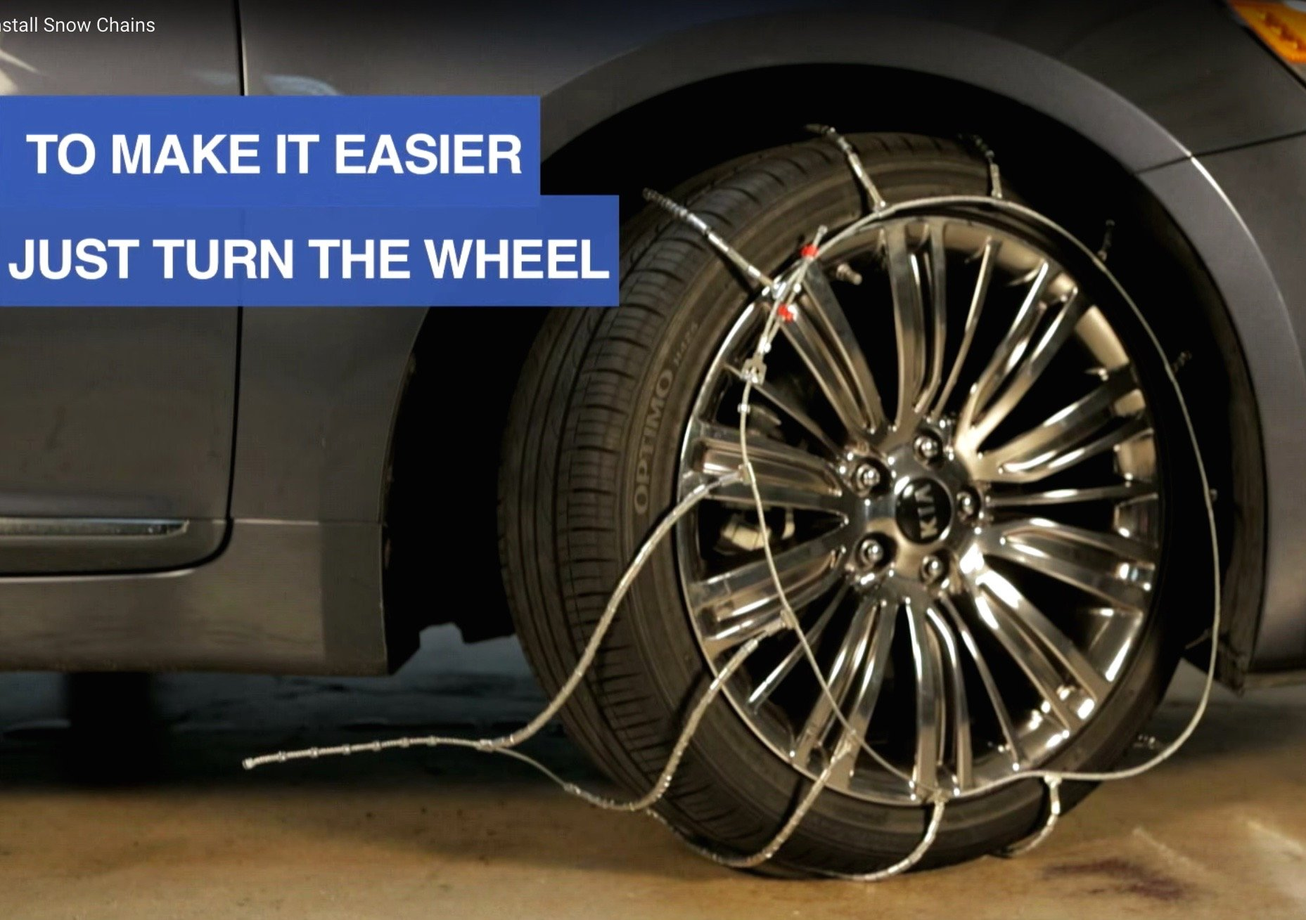 Video Safety Tip: Installing Snow Chains
