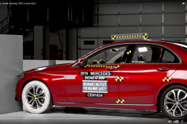 Video: Mercedes-Benz C-Class Captures Top Safety Honor
