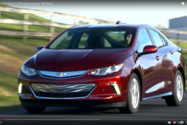 Toyota Prius Prime, Chevrolet Volt Win Top Safety Honors