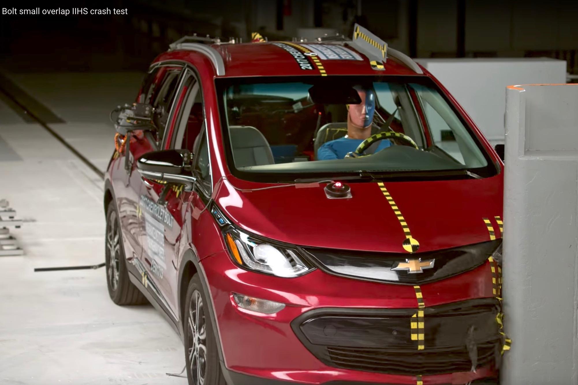 Chevrolet Bolt EV Named IIHS Top Safety Pick