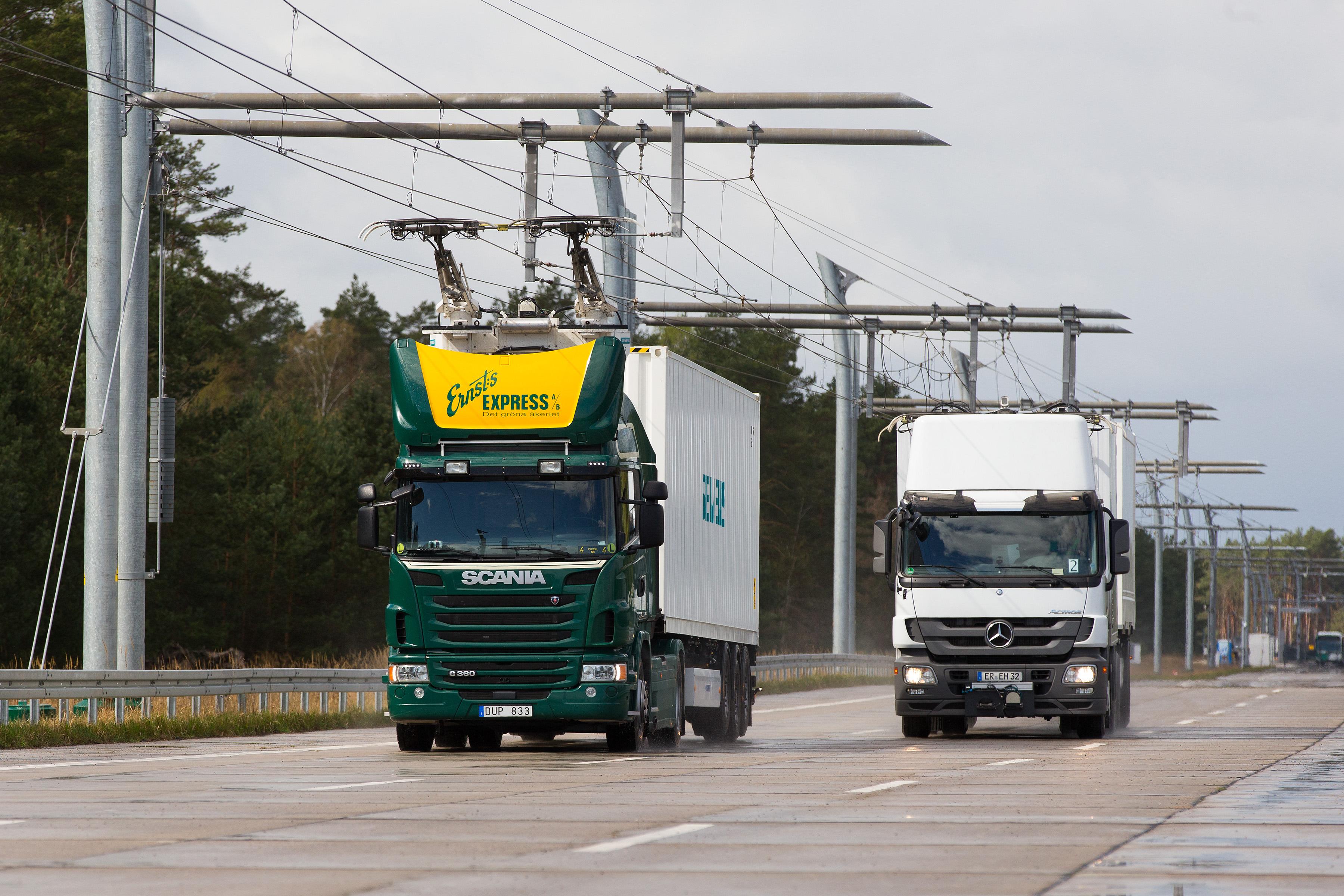 Siemens to Build eHighway Demo in Germany