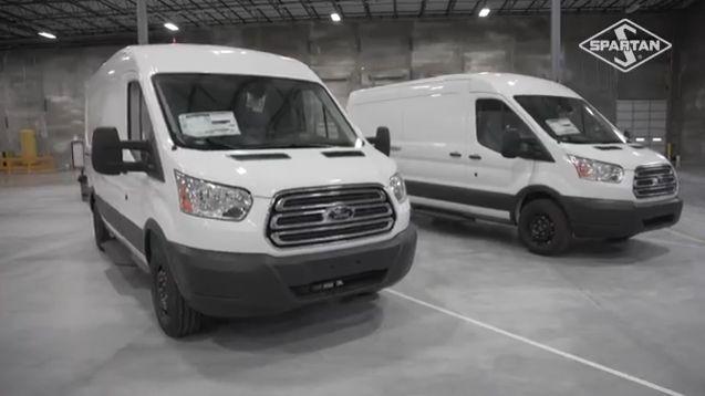 Spartan Sets Up Van Upfitting Near Transit Plant