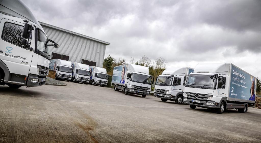 The U.K.'s Spire Healthcare Updates its Delivery Fleet