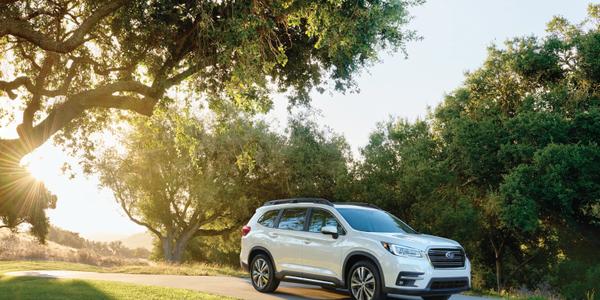 Photo of the 2019 Ascent courtesy of Subaru.