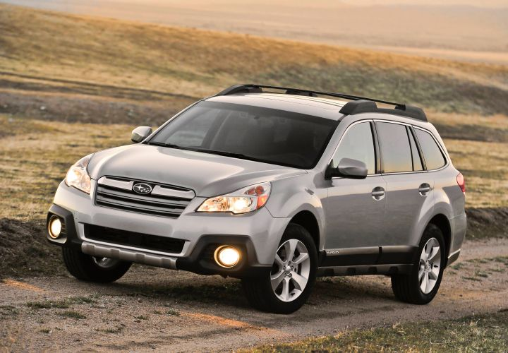 Subaru Outback Showed Fastest Fleet Car OTD for 2014-MY