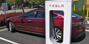 Tesla Expanding EV Charging in China