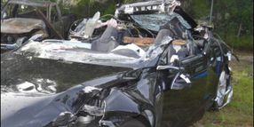 NTSB Faults Trucker and Motorist in Fatal Tesla Crash