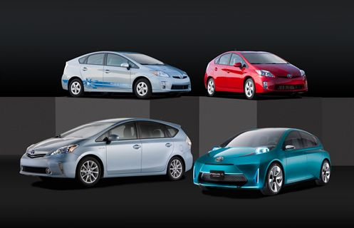 Compare Prius Models >> Toyota Introduces New Prius Models At 2011 Naias Green