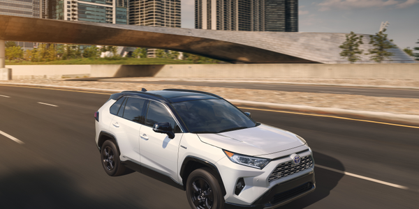 Photo of 2019 RAV4 compact SUV courtesy of Toyota.