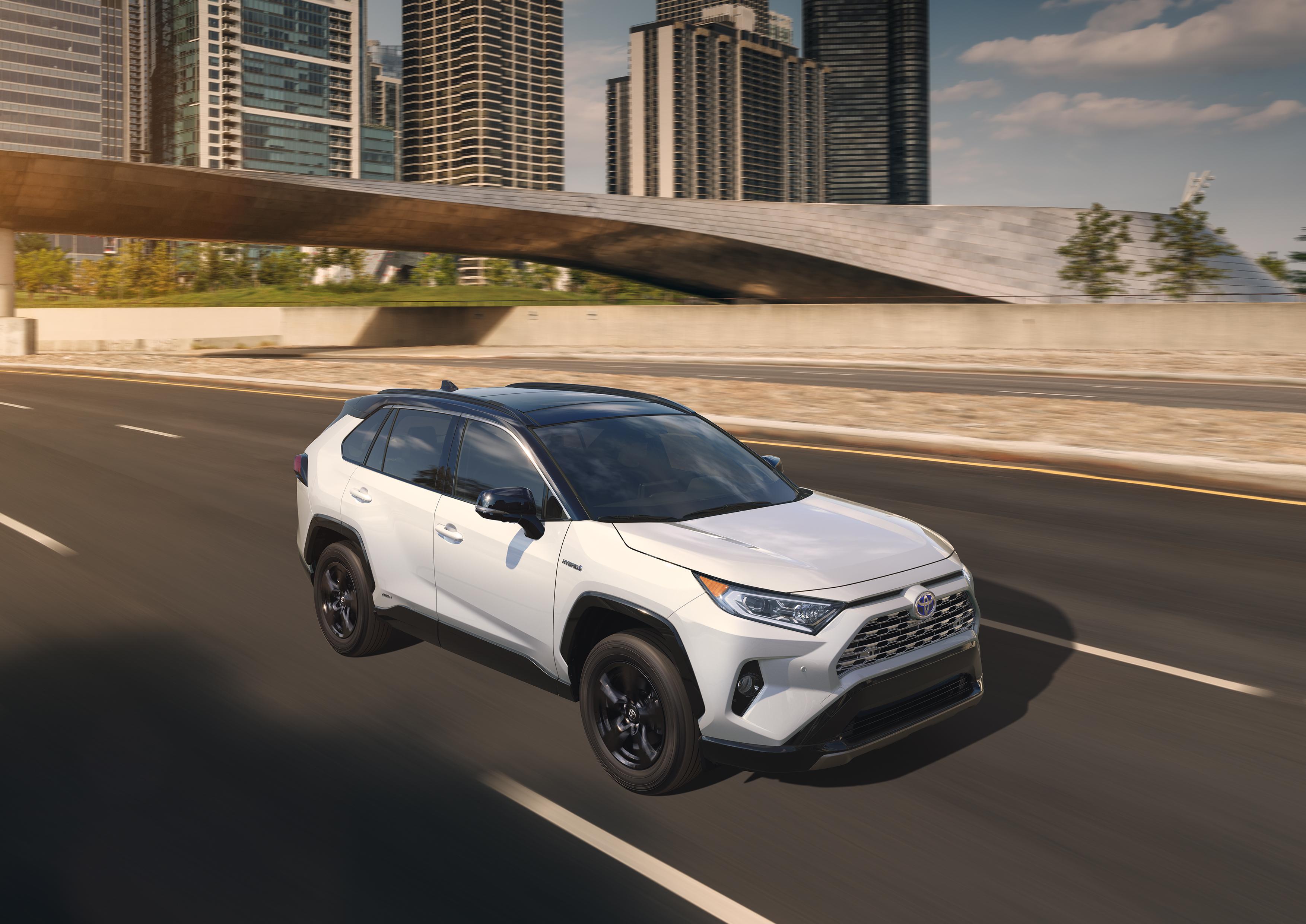 Toyota's 2019 RAV4 Adds Power, Hybrid Trim