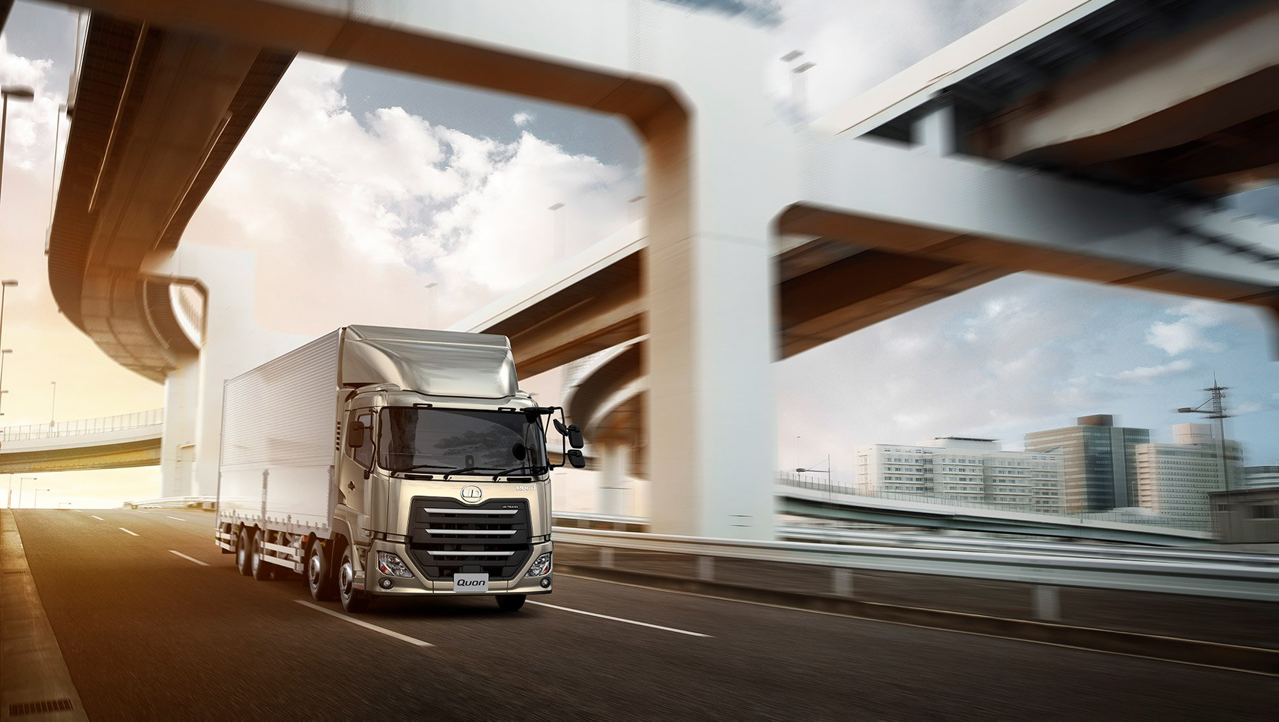 UD Trucks Rolls Out Flagship Cabover for Japan