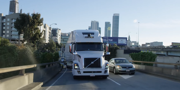 The lawsuit centered around Uber's acquisiton of Otto, an autonomous truck company started by a...