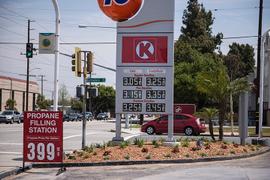Gasoline Falls to $2.25 Per Gallon