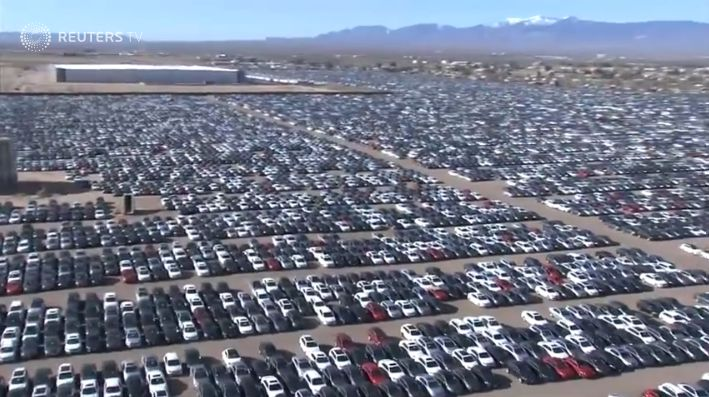 volkswagen storing  diesels   captive finance vehicle remarketing