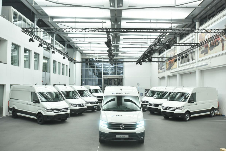 European Fleets to Test Electric Volkswagen Crafter Van