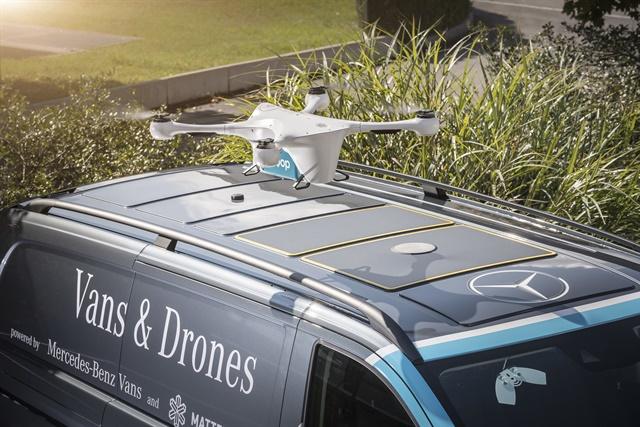 Mercedes-Benz Considers Drone Test Program a Success