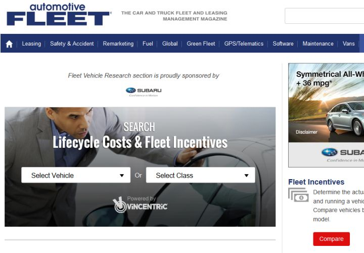 Vehicle Cost Analyzer Tool Launched